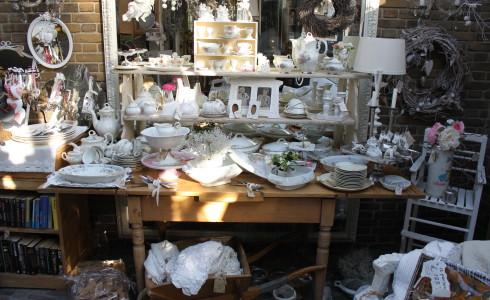 Foto: Impressie van Jantje Margien, de leukste brocante winkel van Amersfoort
